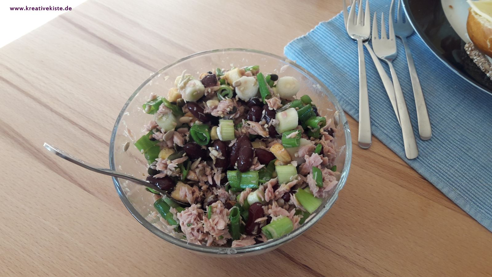 1 high protein salate rezept