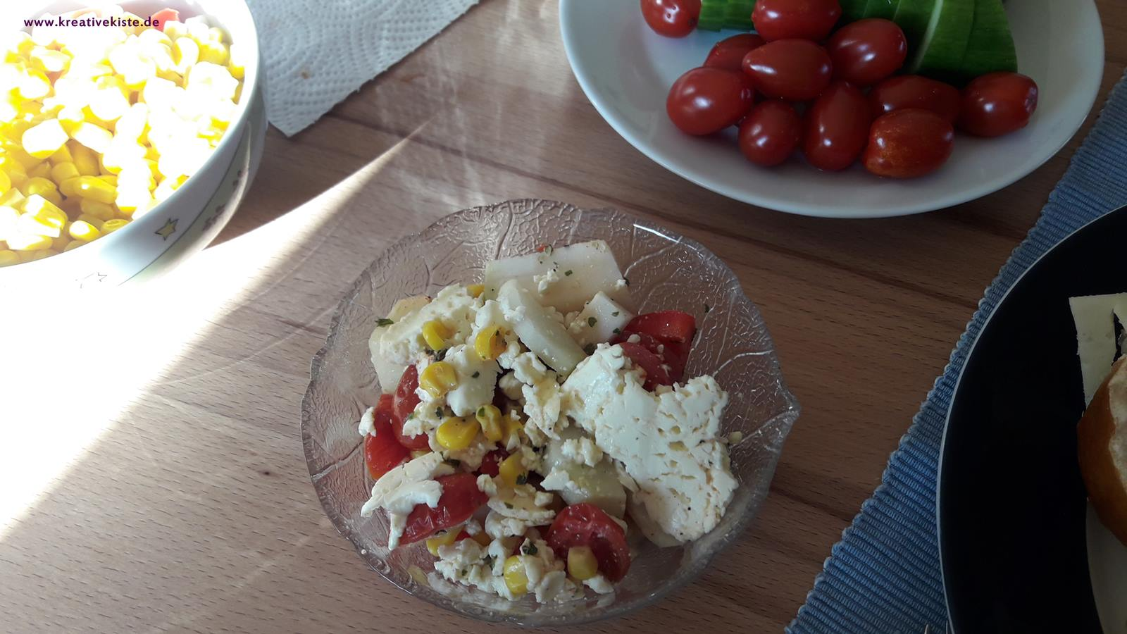 2 high protein salate rezept